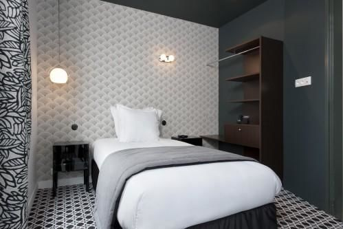 Hotel Emile Paris - Chambre simple